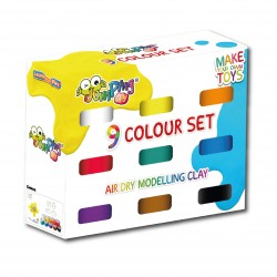 JUMPING CLAY - PACK DE 9 CORES