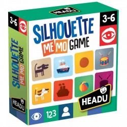 HEADU - Silhouette Memo Game